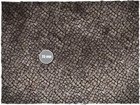 Cobblestone -  Mousepad Gaming Mat 4X4 (Deep Cut Studios)