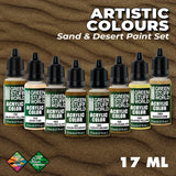 Sand and Desert Paint Set - 10125- Green Stuff World