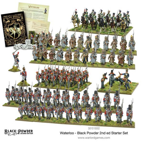 Napoleonic: Waterloo - Black Powder 2nd edition Starter Set