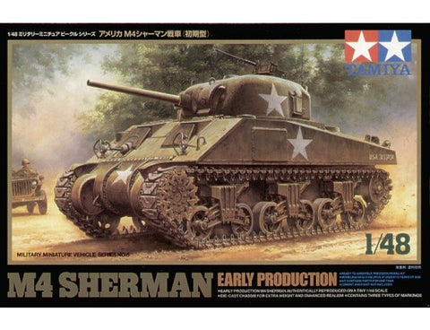 US M4 SHERMAN EARLY PRODUCTION