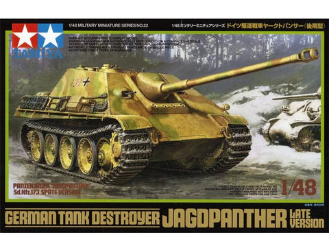 GERMAN TANK DESTROYER JAGDPANTHER LATE VERSION