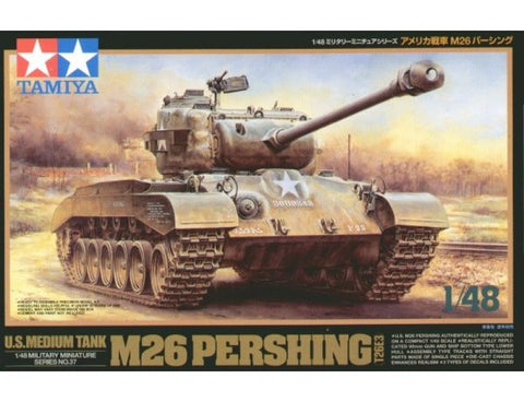 M26 Pershing - Tamiya 1/48 (N0.37) :www.mightylancergames.co.uk