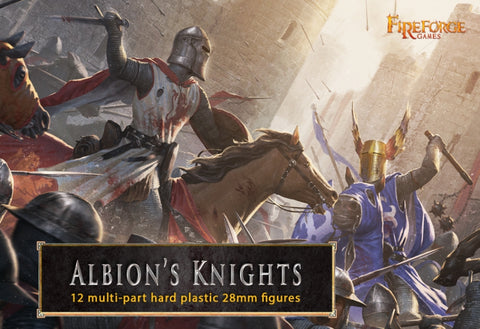 Fireforge Albion Knights plastic kit (12 mounted figures)
