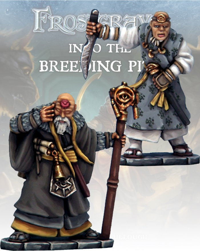Frostgrave: Soothsayer & Apprentice II: www.mightylancergames.co.uk