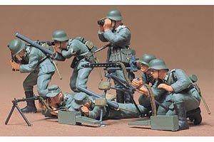 GERMAN MACHINE GUN TROOPS - Tamiya (1/35) :www.mightylancergames.co.uk