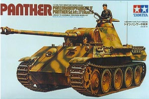 Panther Ausf. A - Tamiya (1/35) :www.mightylancergames.co.uk
