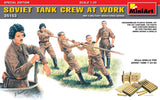 MiniArt 1:35 - SOVIET TANK CREW AT WORK :www.mightylancergames.co.uk