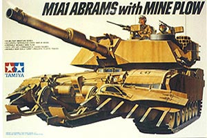 U.S. M1A1 Abrams with Mine Plow