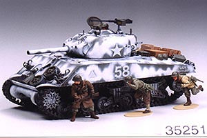 US M4A3 SHERMAN WITH 105MM HOWITZER - Tamiya 1/35