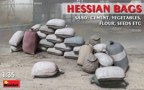 Hessain Bags (Sand, Cement, Vegtables): www.mightylancergames.co.uk