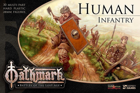 Oathmark - Human Infantry: www.mightylancergames.co.uk