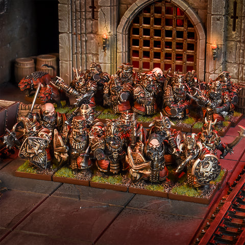 Abyssal Dwarf Blacksouls Regiment - Kings Of War