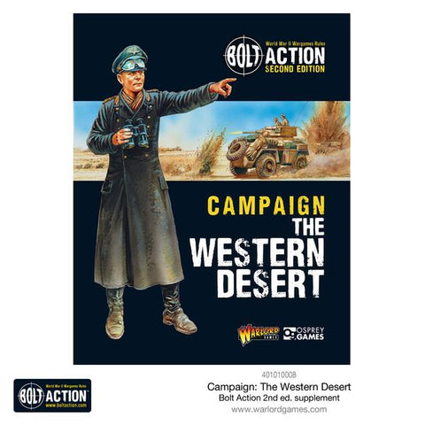 Campaign Western Desert - Campaign Book (Bolt Action) :www.mightylancergames.co.uk