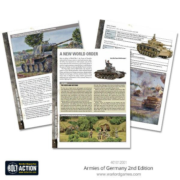 Armies of Germany 2nd Edition (Bolt Action)