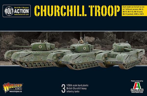 Bolt Action: British Churchill Tank Troop