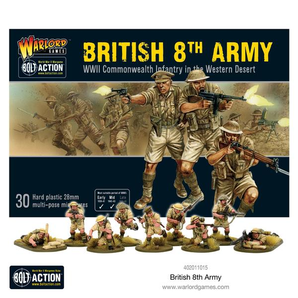 British 8th Army Infantry - Bolt Action: www.mightylancergames.co.uk