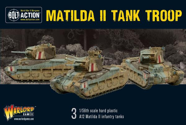 British Matilda II Tank Troop (Bolt Action): www.mightylancergames.co.uk