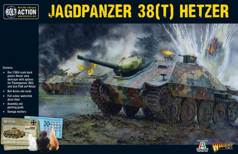 Bolt Action: German Hetzer Tank Hunter [plastic]