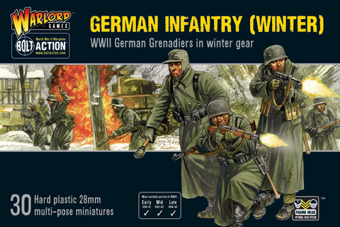 German Infantry (Winter) - Bolt Action