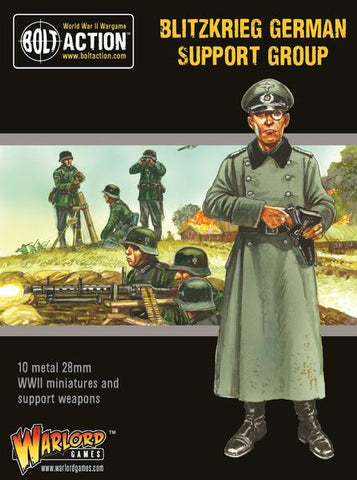 Blitzkrieg German Support Group - Bolt Action