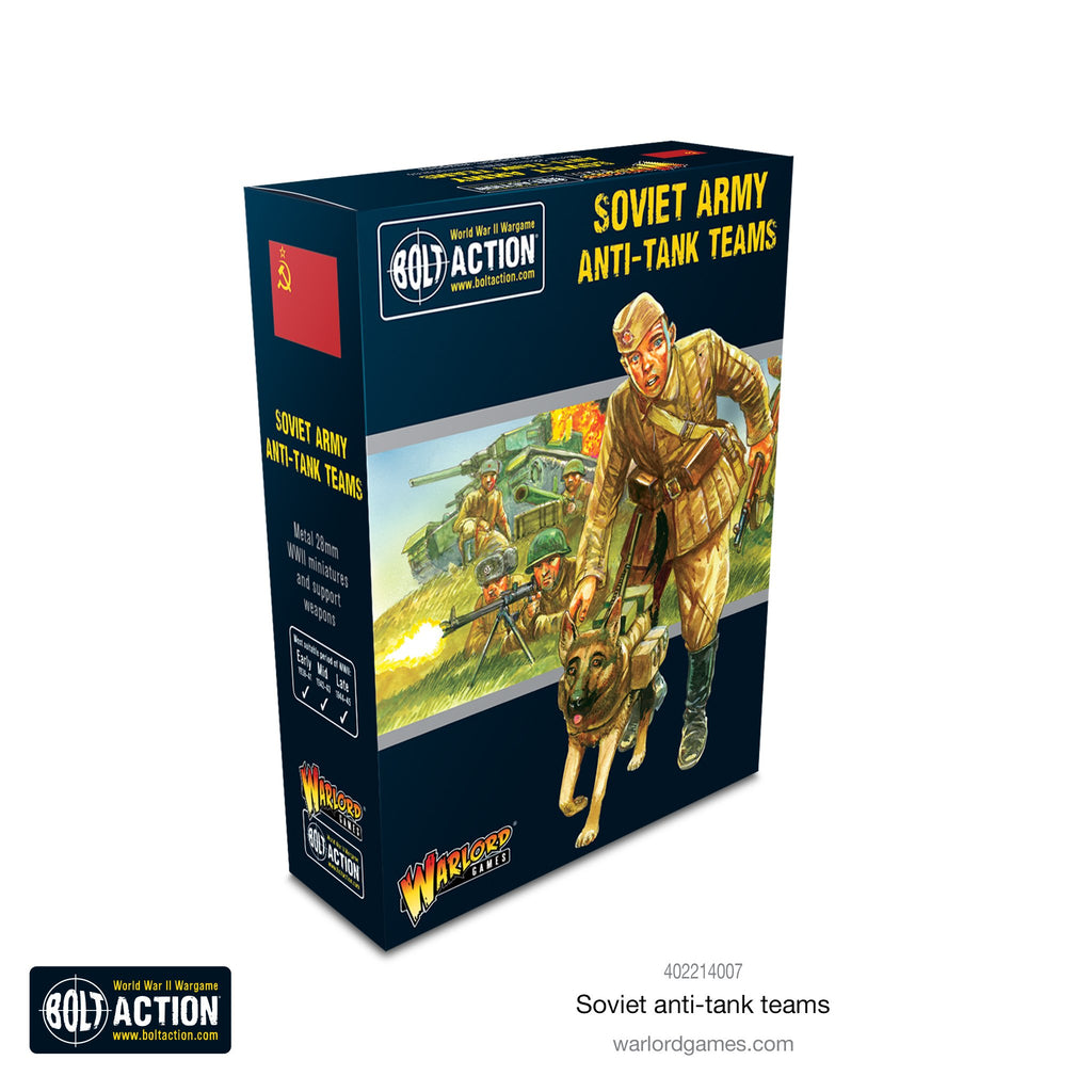 Soviet Anti-tank Teams - Bolt Action