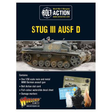 Stug III Ausf D - Bolt Action :www.mightylancergames.co.uk