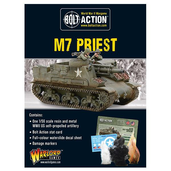 Bolt Action: US M7 Priest self-propelled gun