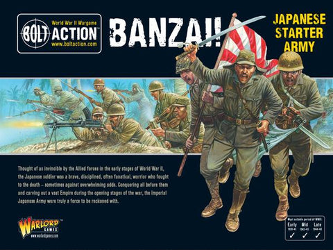 Bolt Action: Japanese - Banzai! Imperial Japanese Starter Army