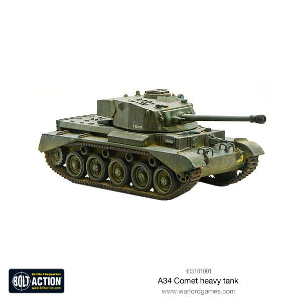 Bolt Action: British A34 Comet heavy tank