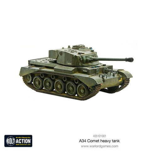 A34 Comet Heavy Tank - British (Bolt Action)