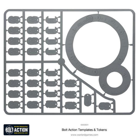 Templates (Bolt Action) :www.mightylancergames.co.uk