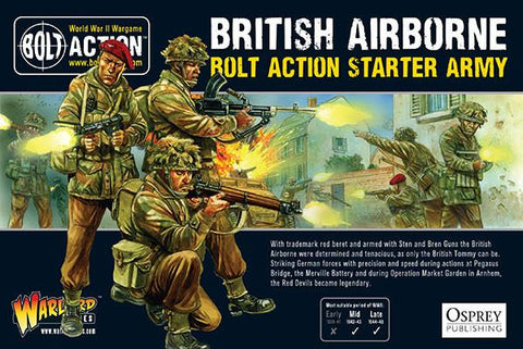 British Airborne Starter Army - Bolt Action: www.mightylancergames.co.uk