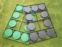 Renedra: 40mm Diameter Wargaming Bases