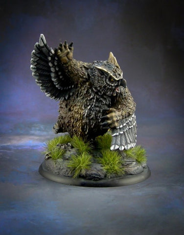 44001: Owlbear (Bones Black) available at Mighty Lancer Games