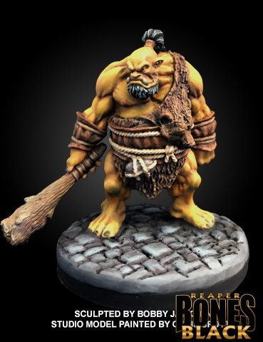 44006: GARGHUK, OGRE CHIEFTAIN (Bones Black)
