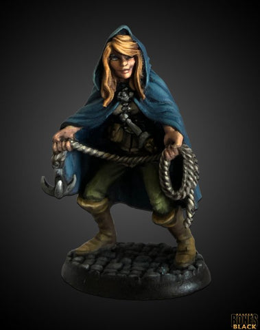 44009: Daschelle, Female Rogue (Bones Black)