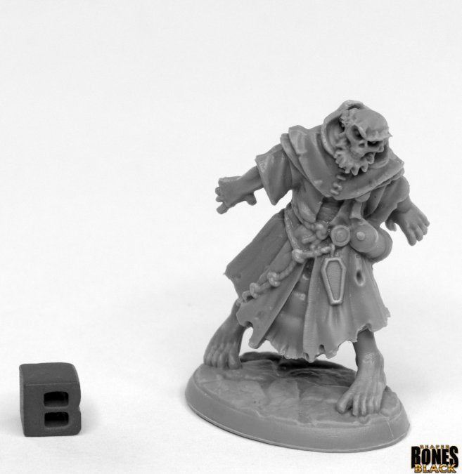 44022: 44022: DREADMERE WIGHT (Bones Black)  reaper miniatures