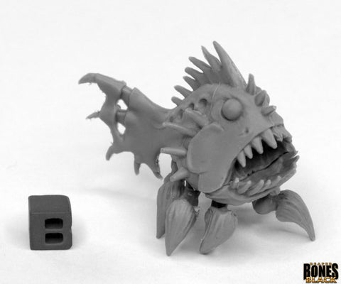 44027: Terrorfish (Bones Black)- reaper miniatures