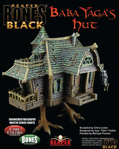 44130 BABA YAGA'S HUT - BONES BLACK DELUXE BOXED SET