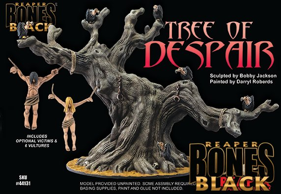 44131 TREE OF DESPAIR - BONES BLACK DELUXE BOXED SET