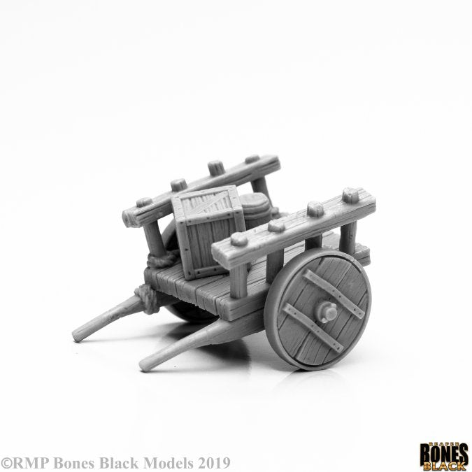 44140 - Townsfolk, Cart (Bones Black) :www.mightylancergames.co.uk