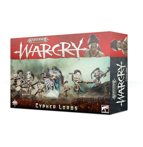 Cypher Lords - Warcry: www.mightylancergames.co.uk