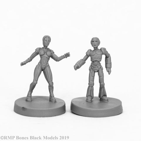 49011 Androids (2) Reaper Bones Black - mighty lancer games