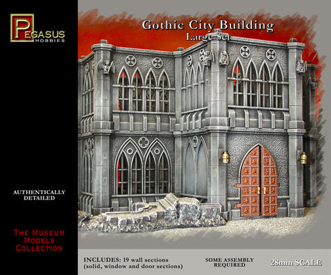Pegasus: Gothic City Buildings Large Set