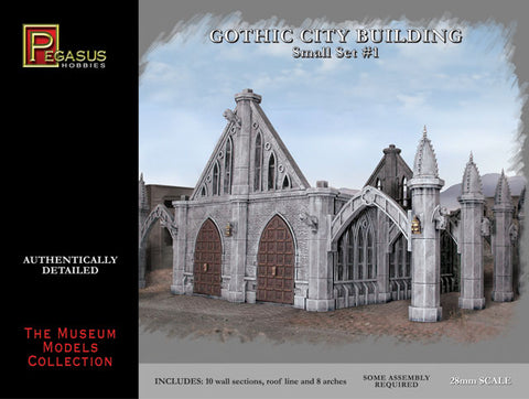Pegasus: Gothic City Buildings Small Set #1