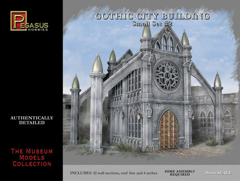 Pegasus: Gothic City Buildings Small Set #2
