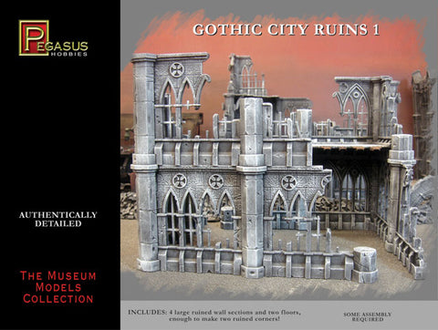 Gothic City Ruins - Pegasus Hobbies