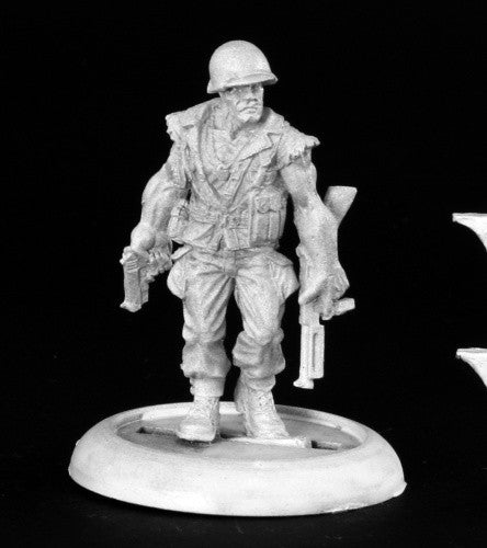 50120 - Sgt. Mack Torrey (Reaper Chronoscope) :www.mightylancergames.co.uk