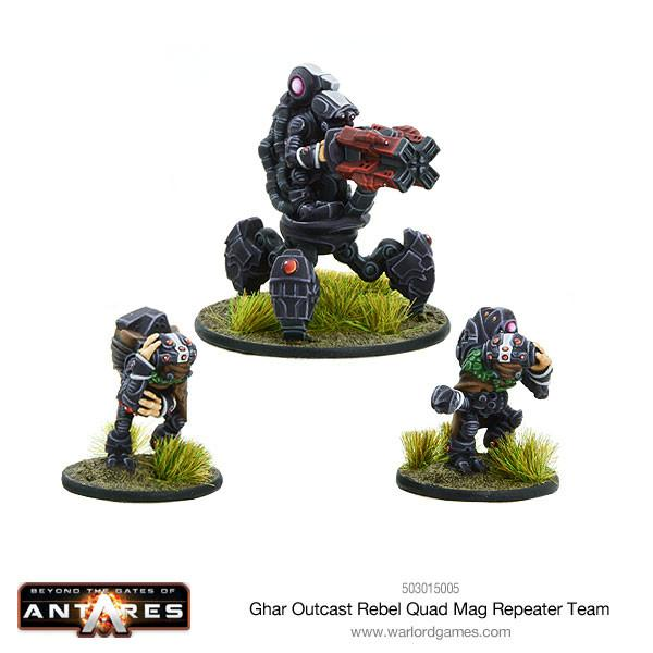 Beyond the Gates of Antares: Ghar Outcast Rebel Quad mag repeater team