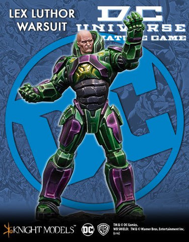 DC Universe: Lex Luthor War Suit